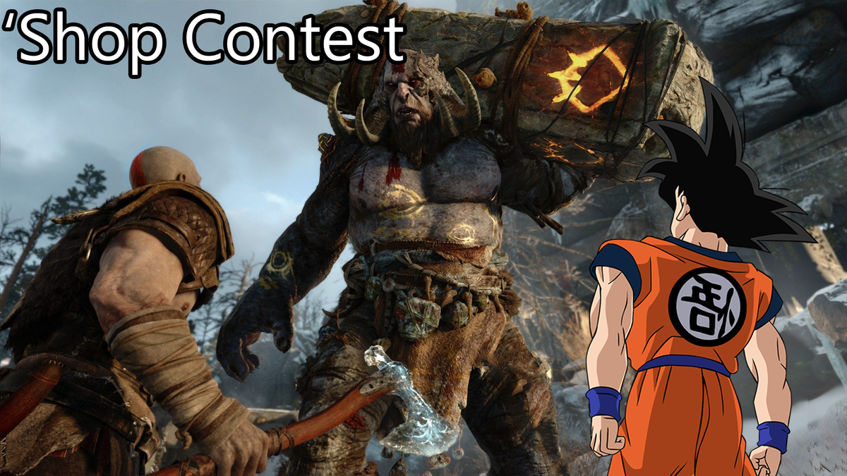 'Shop Contest: Goku Needs A Better Game