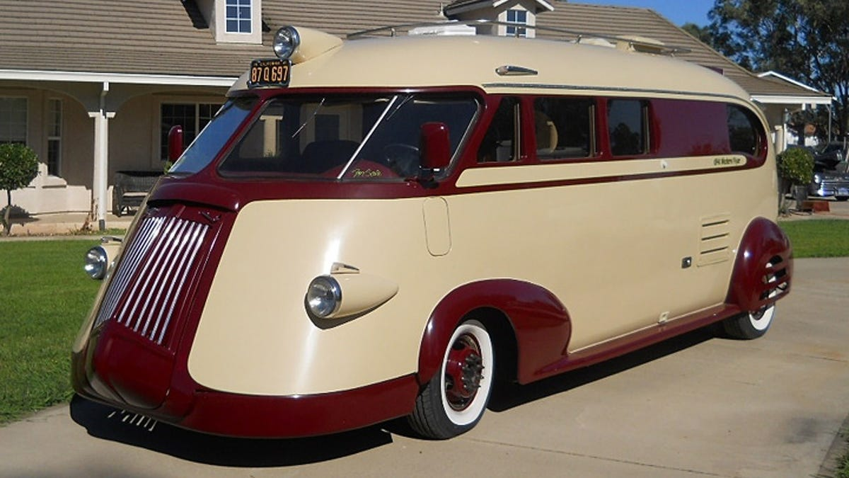The Western Flyer Is A Streamlined RV By The Man Who Designed The Wienermobile
