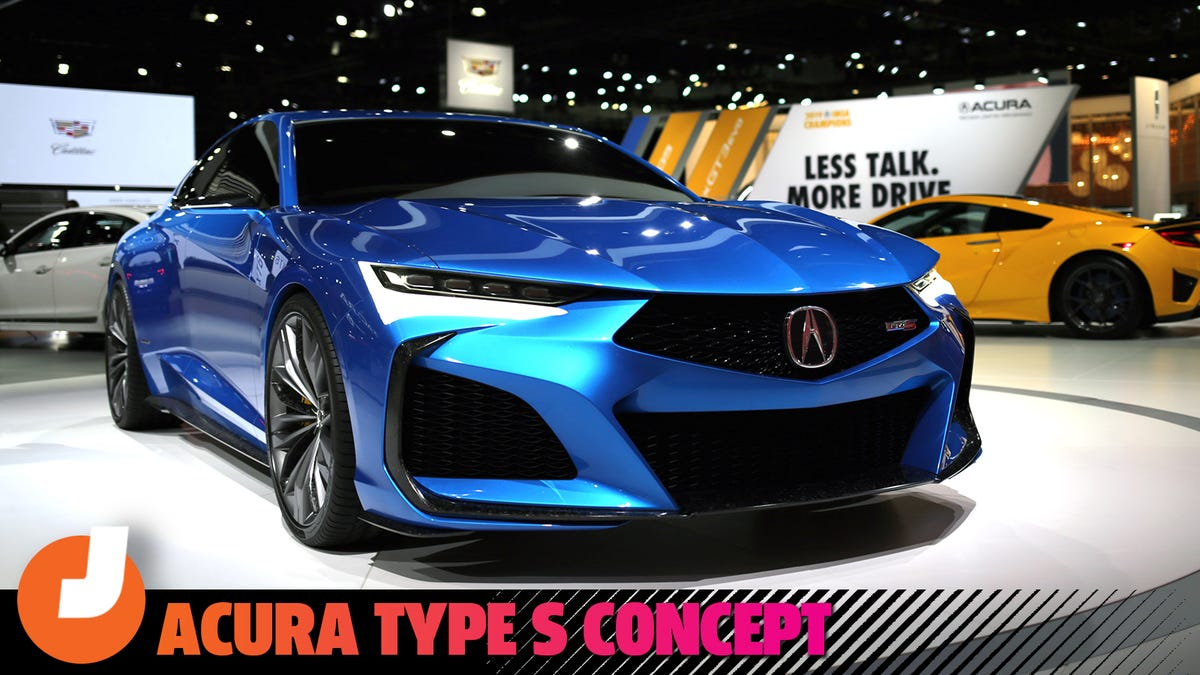There's No Way The Acura Type S Concept Isn't Close To Production-Ready