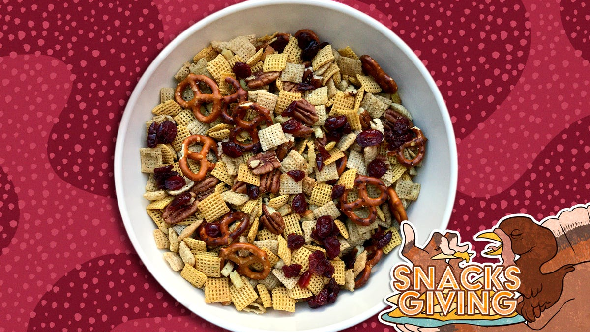 Thanksgiving flavors take Chex Mix to the big kids' table