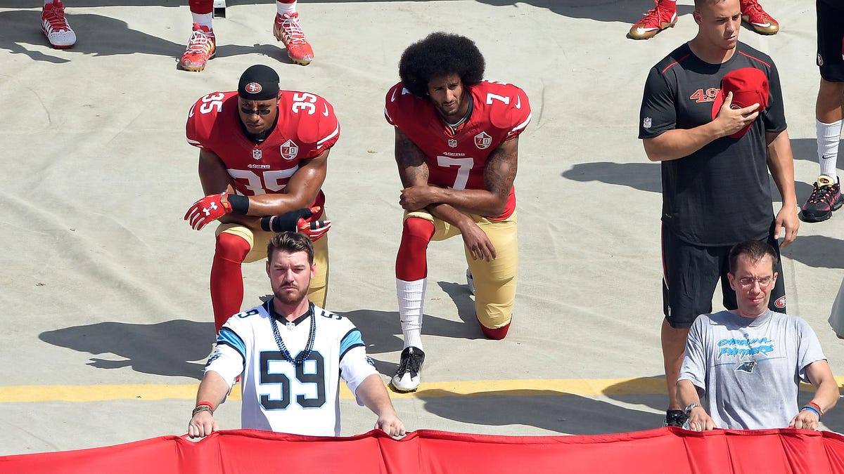The NFL keeps following Trump into the abyss - first with Kaepernick then with COVID