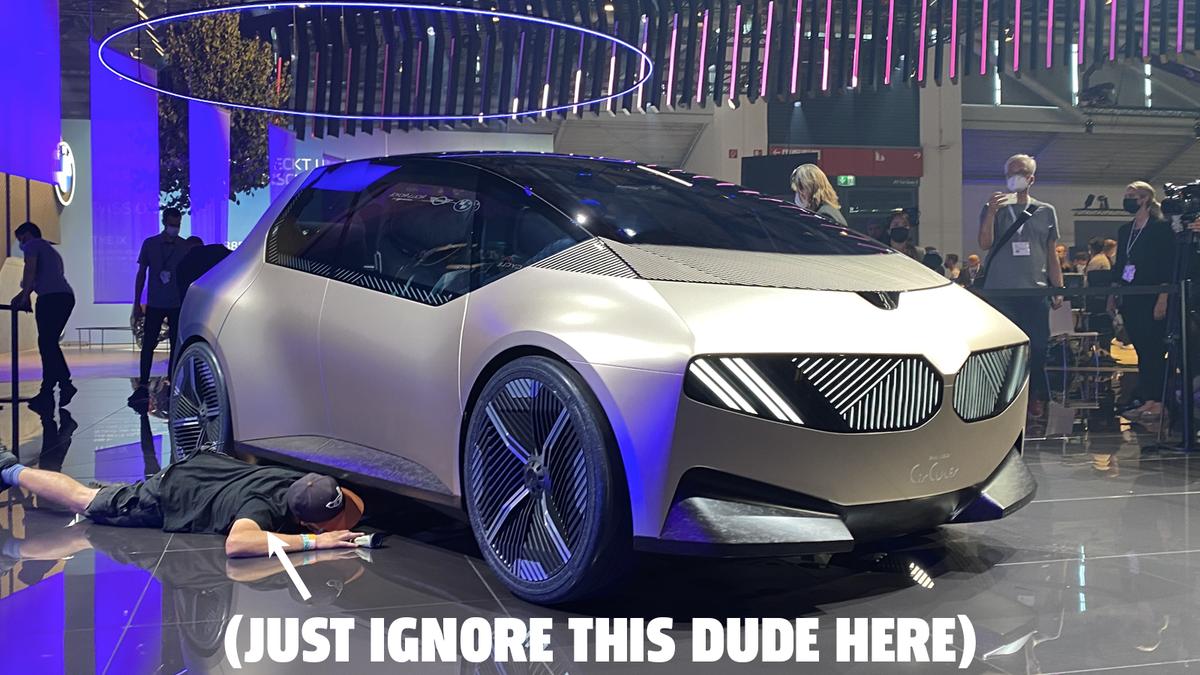 Das BMW i Vision Circular Concept hat einen seltsamen Namen, aber ein tolles Design€