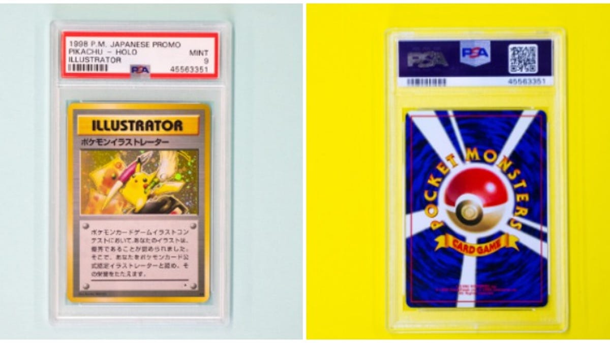 The World's Most Expensive Pokémon Card Breaks A New Auction Record