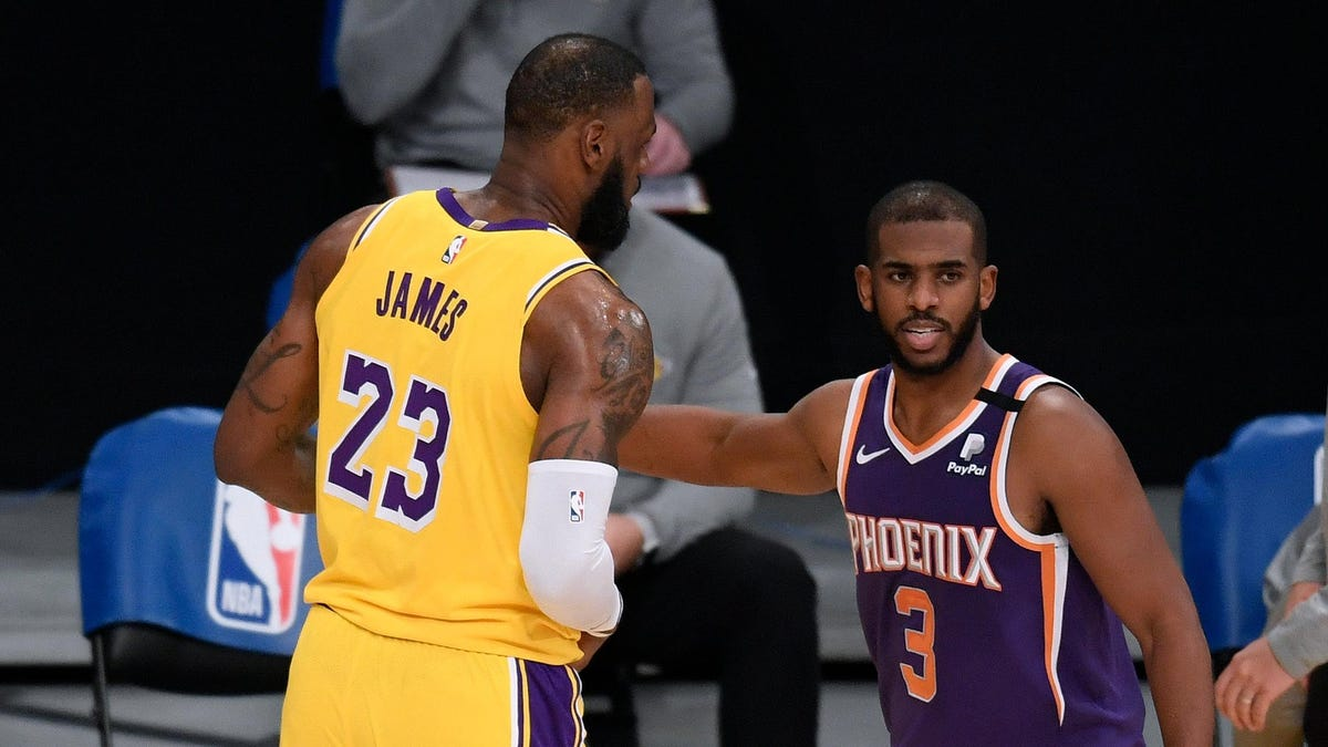 Sorry, Phoenix: The reward for your historic season is a first-round series against the world's best player and his championship team