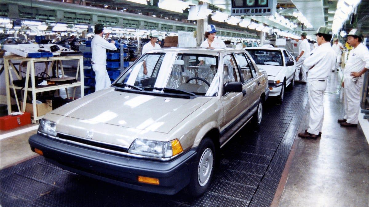 Honda's Massive Ohio Plant Rose As General Motors Fell