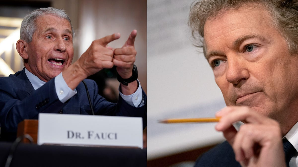 photo of Rand Paul Says He'll Make Criminal Referral to DOJ Against Dr. Fauci image