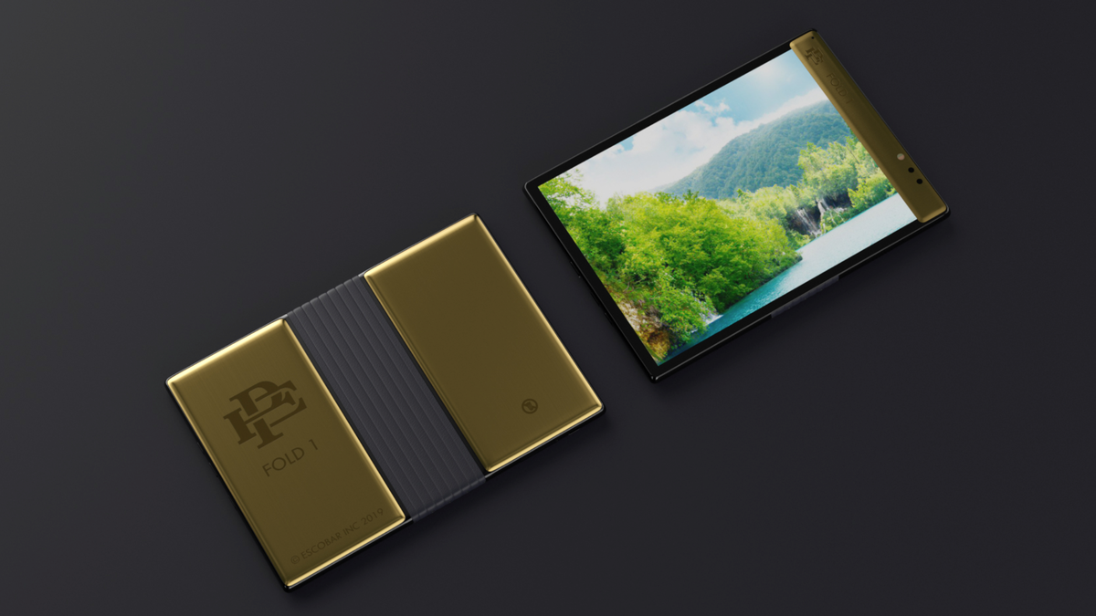 Pablo Escobar's Brother Has Apple In His Crosshairs With... an 'Unbreakable' Foldable Phone?