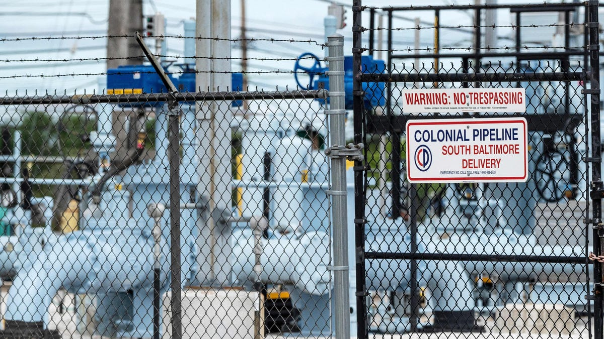 Colonial Pipeline Reportedly Paid Hackers $5 Million for Decryption Key That Wasn't Very Useful