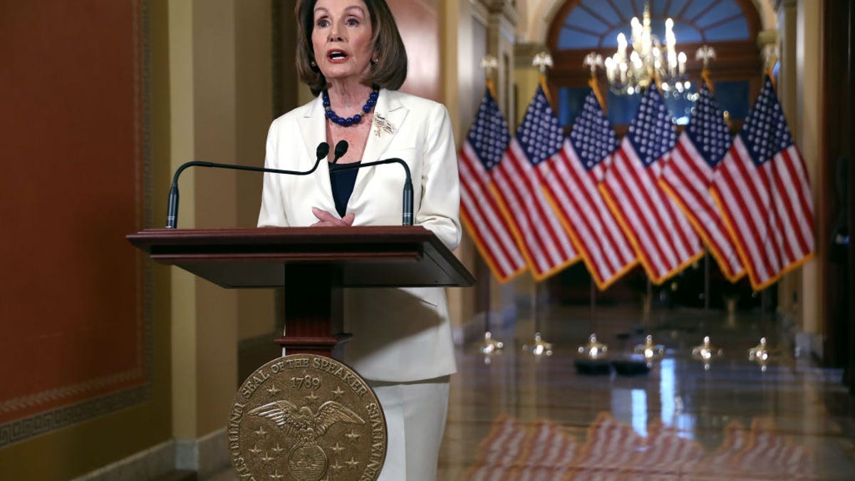 Speaker Nancy Pelosi Says Trump 'Leaves Us No Choice But to Act' on Impeachment