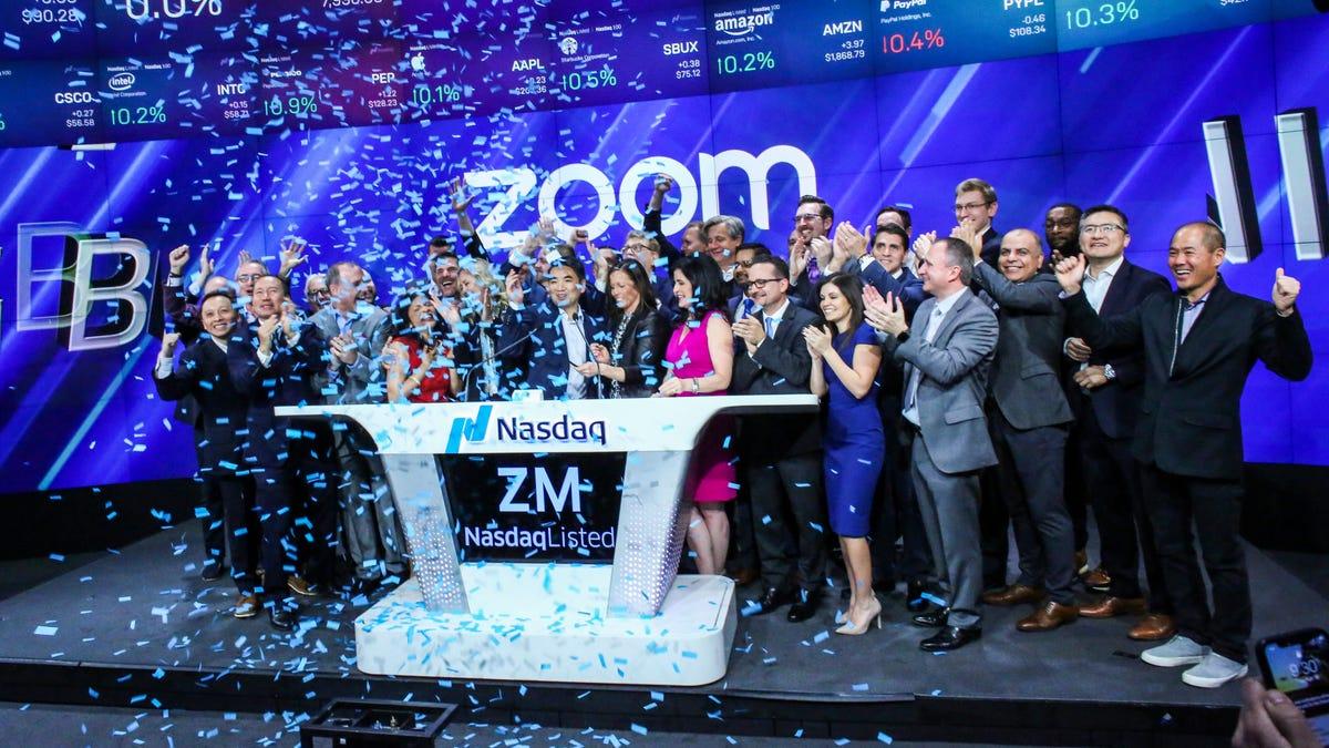 Zoom Stock Takes a Dive on Positive Coronavirus Vaccine News