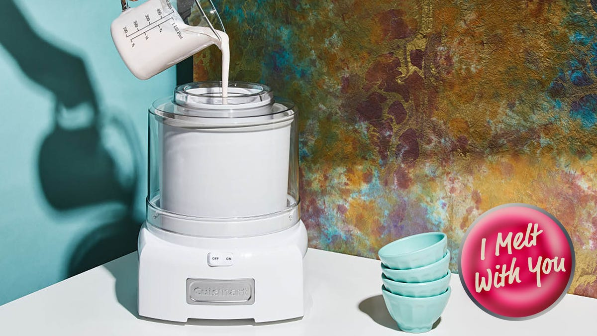 How to find the best ice cream maker for you