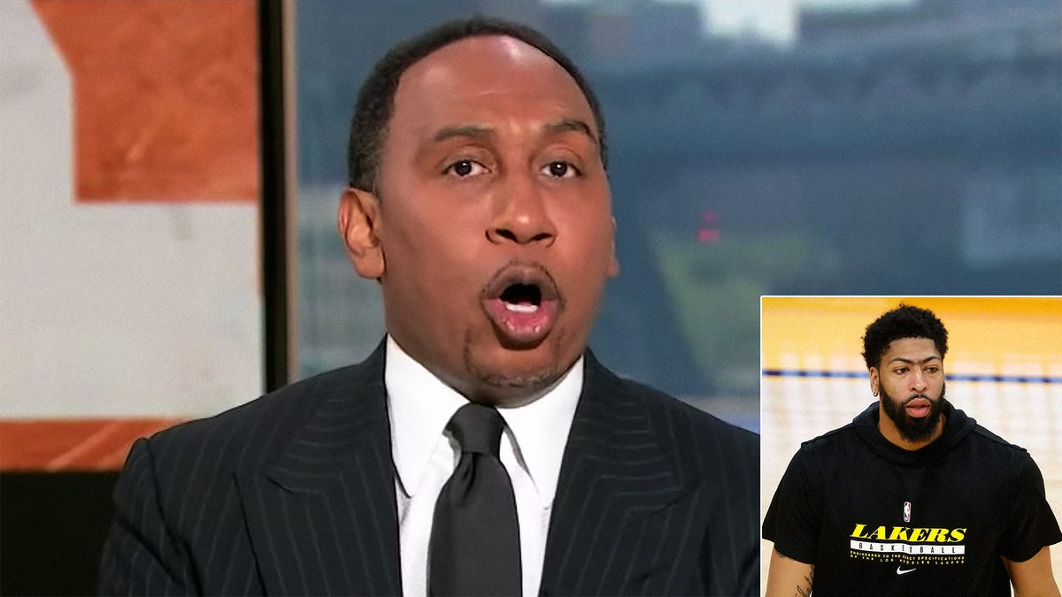 Stephen A. Smith Blasts Anthony Davis For Refusing To Play Through Groin Surgery