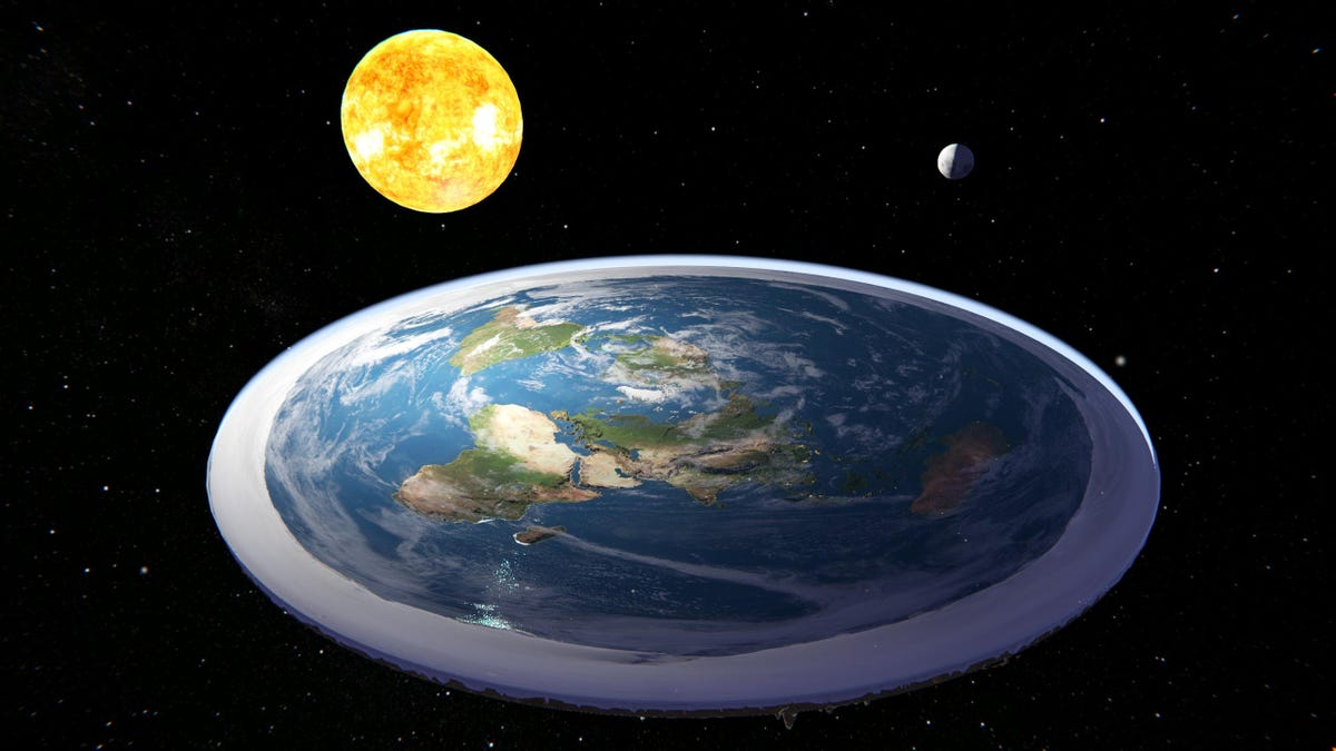 I Cannot Tell If Flat Earth Simulator Is Real Or A Prank