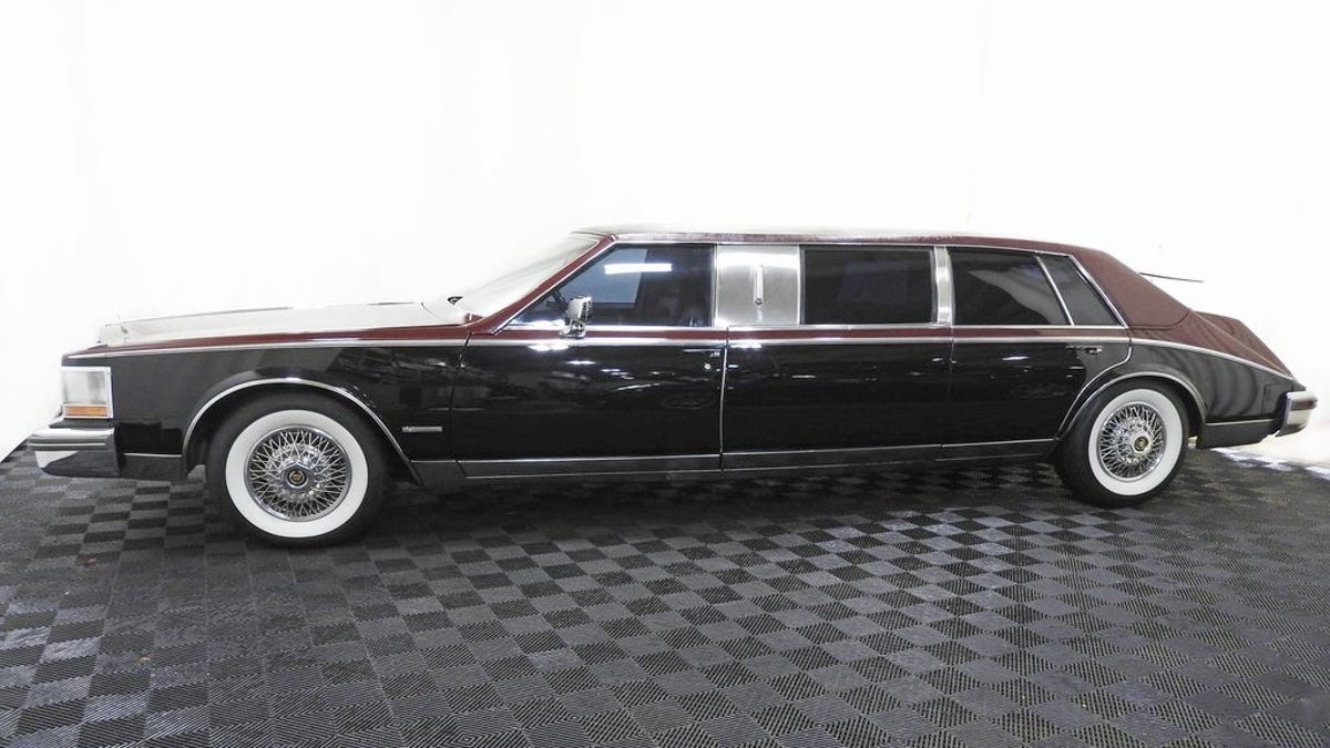 at 12 200 could this 1981 cadillac seville limo give you a rustle in your bustle 1981 cadillac seville limo give