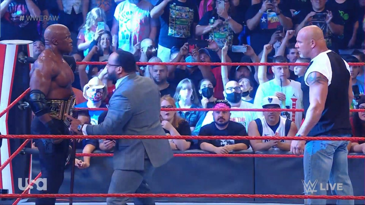 I thought having a crowd would make Monday Night Raw try harder. That's my bad