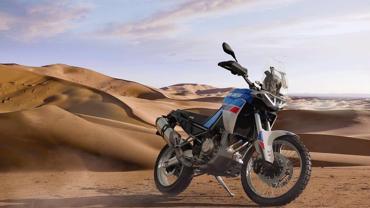 Die Aprilia Tuareg 2022 beweist, dass die Wiedergeburt der Mittelklasse-Motorräder weitergeht