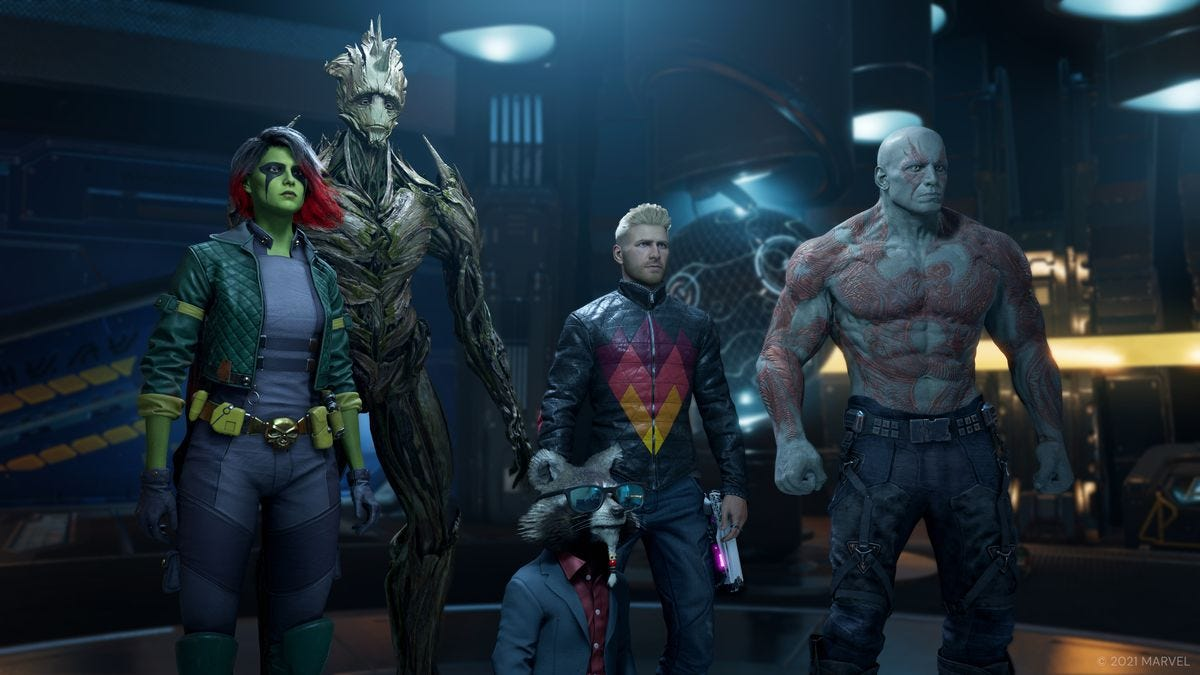 Marvel's Guardians of the Galaxy Game: Skins and Costumes