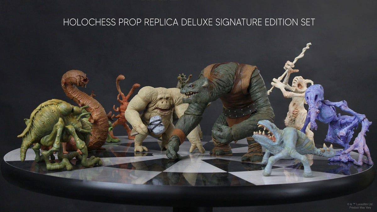 These Star Wars Holochess Figures Are Unfathomably Expensive