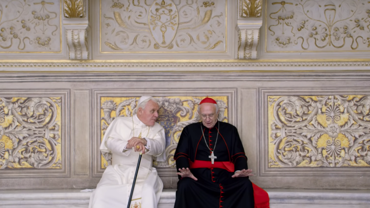 It's a pontiff-palooza in this trailer for Netflix's <i>The Two Popes</i>