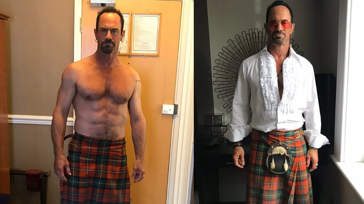 Chris Meloni Makes a Strong Case For Kilts