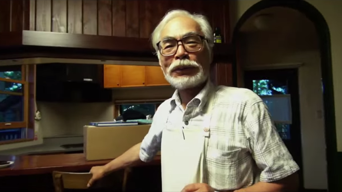 The Way Hayao Miyazaki Works Sounds Stressful