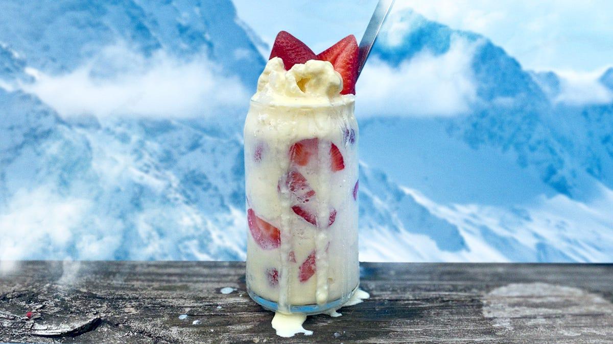 Recipe: Strawberry Buttermilk Snowballs, cool Baltimore classics