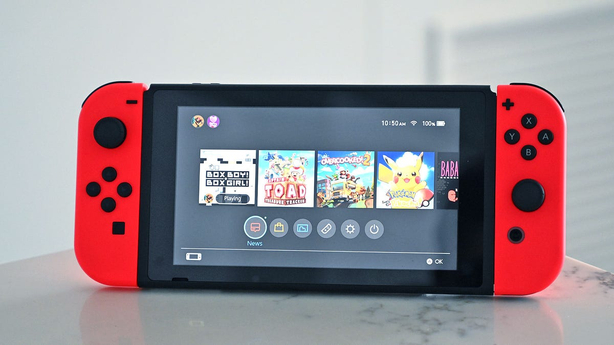 Why You're Probably Not Getting a Switch Pro This Year