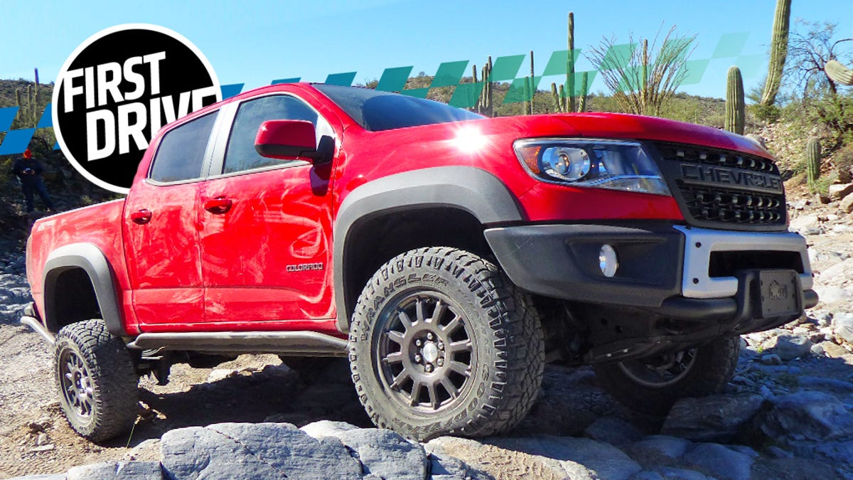 2019 Chevrolet Colorado ZR2 Bison: Why It's So Good Off-Road
