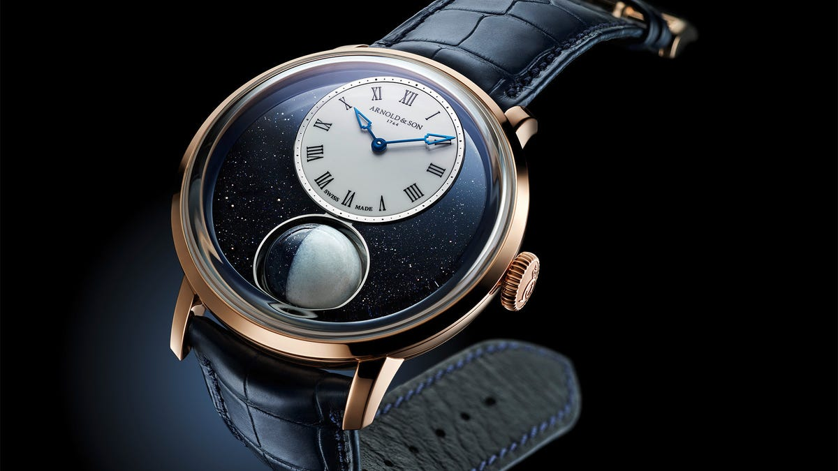 This $47,500 Watch Contains a Tiny Moon