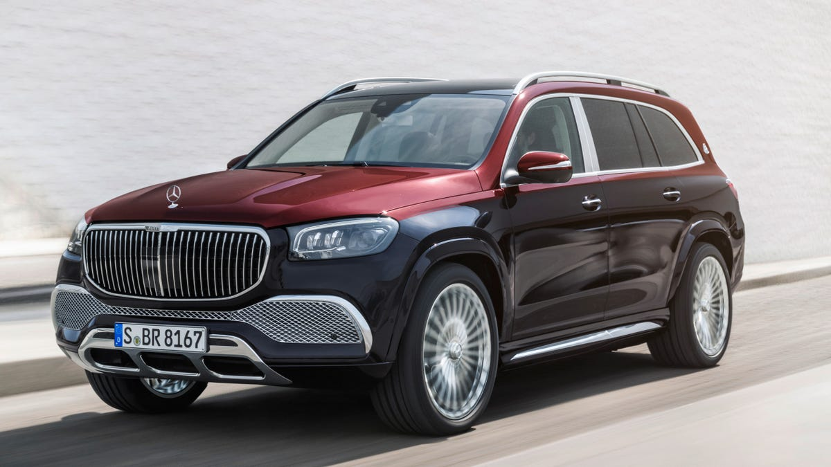 The Mercedes-Maybach GLS 600 Is More SUV Than You'll Ever Need