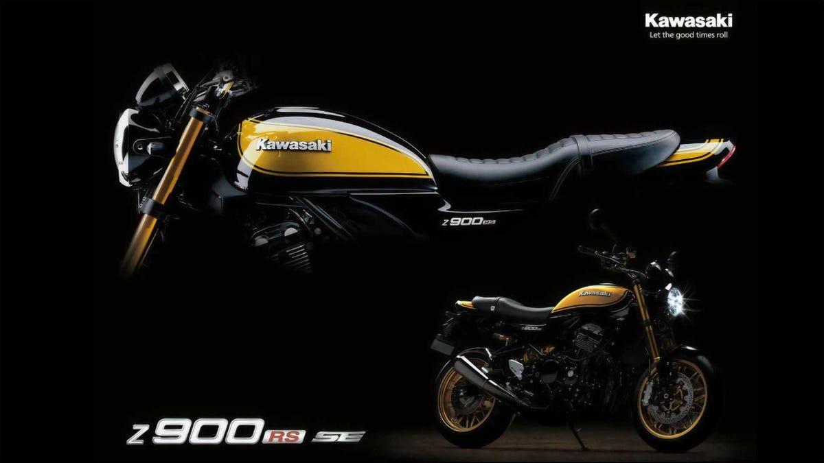 Die Kawasaki Z900RS SE von 2022 ist Retro pur