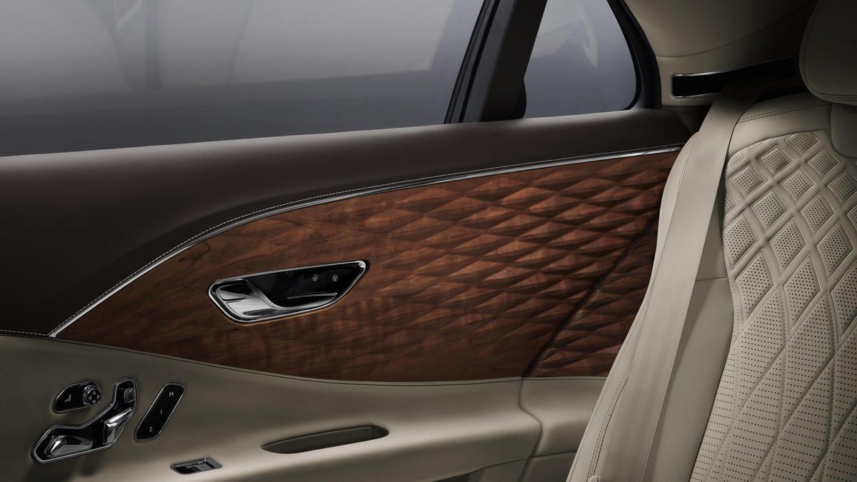 Bentley's Quilted Wood Interior Is Certainly Original