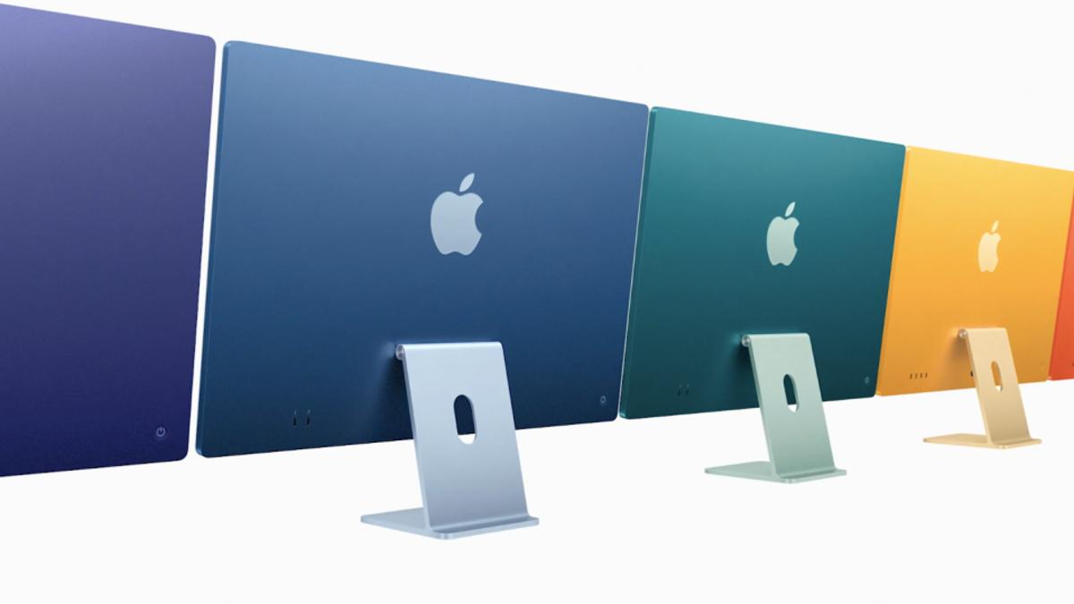 Los nuevos iMac con Procesador M1 lucen potentes, pero sobre todo bonitos