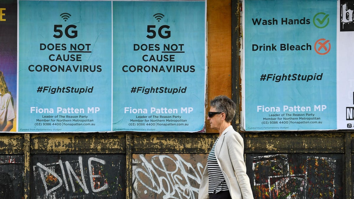 Too Many of You Still Believe in 5G Conspiracy Theories