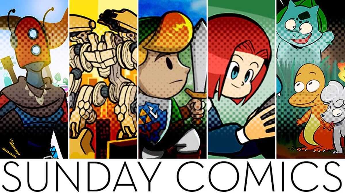 Sunday Comics: Job Well Done!
