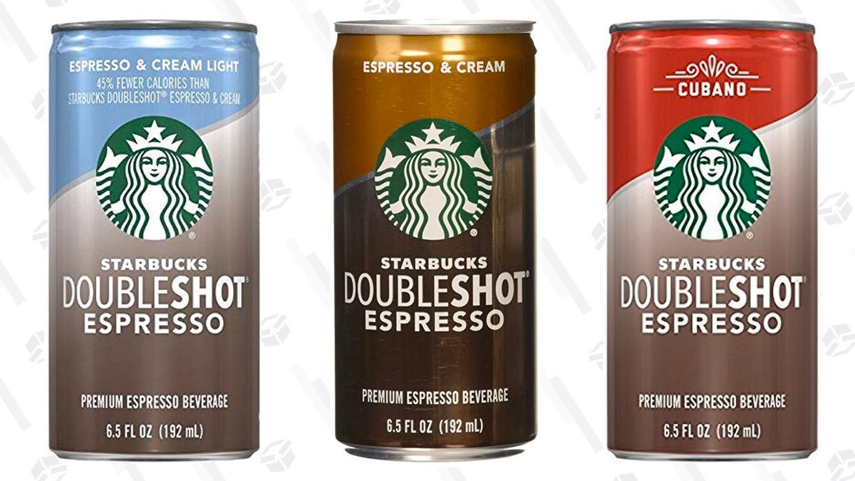 Save 20 Off These Starbucks Doubleshot Espresso Drinks