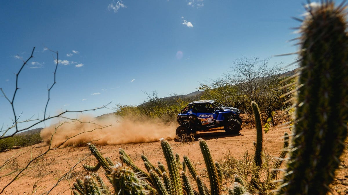 Casey Currie Ran A Stock UTV In Brazil's Most Grueling Rally And Still Finished Tenth