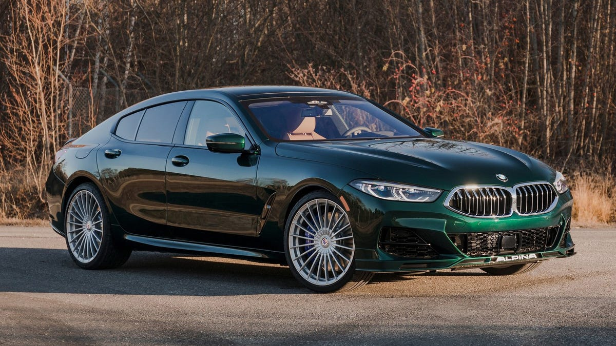 The Alpina B8 Gran Coupe Makes Too Much Power