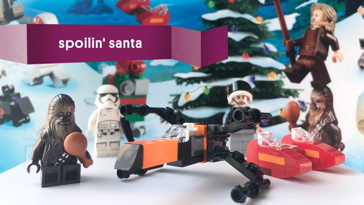 Spoilin' Santa: What's Inside the LEGO Star Wars Advent Calendar?