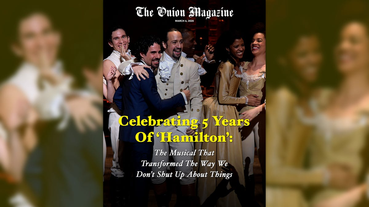 Celebrating 5 Years Of 'Hamilton': The Musical That Transformed The Way We Don't Shut Up About Things
