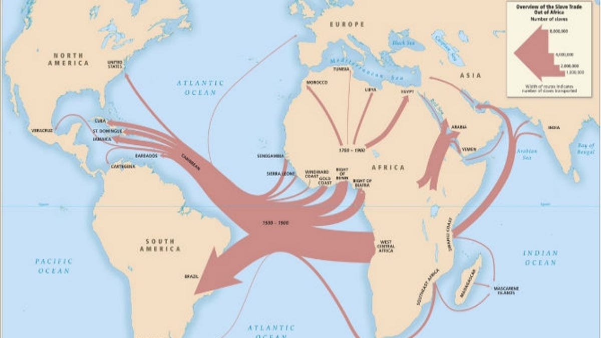 Can I Find the Slave Ports Through Which My Ancestors Came?