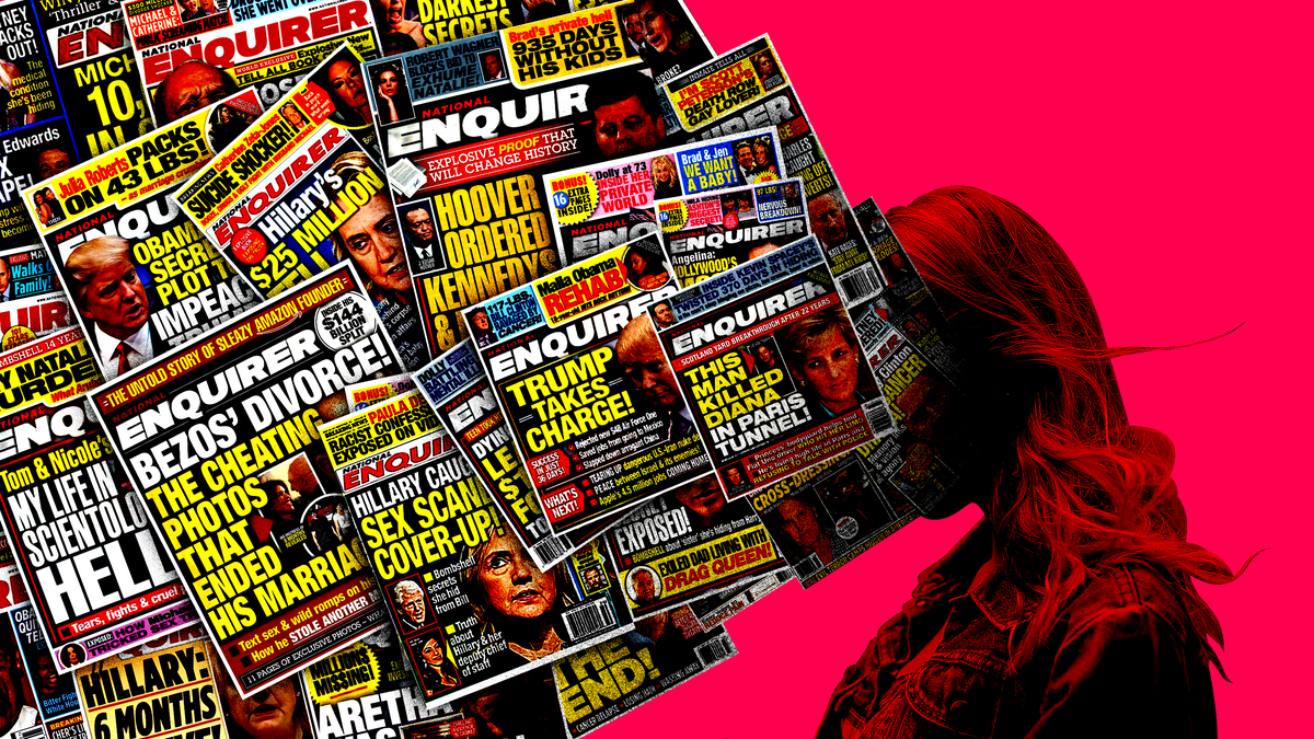 National Enquirer Reporters Were So Good at Journalism They Ruined News