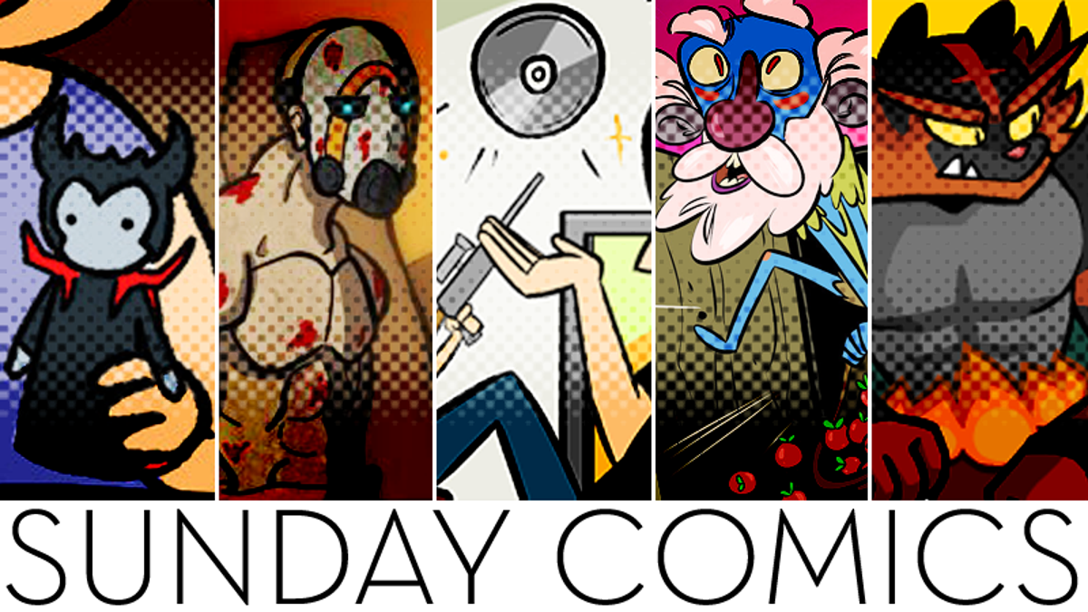 Sunday Comics: How Does He Do That?