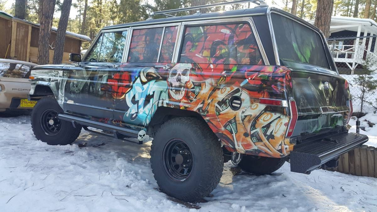 At 4 700 Is This Frame Up Restoration 1989 Jeep Grand Wagoneer A Letdown