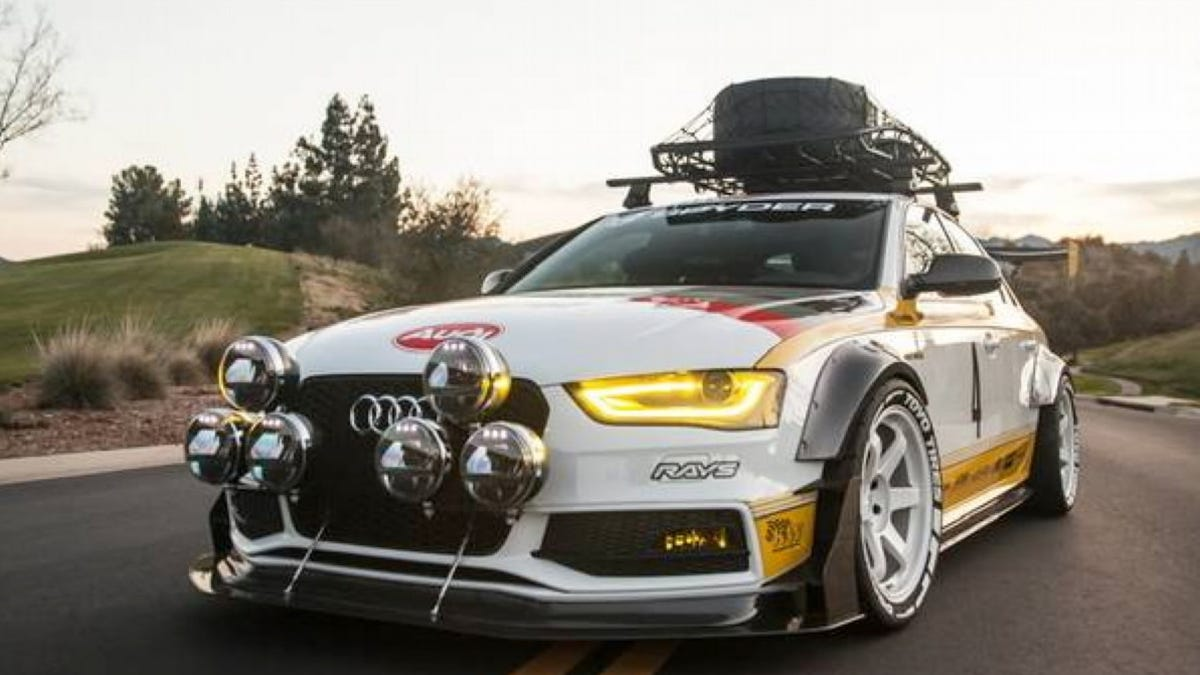At $59,995, Could This 2013 Audi S4 Built For SEMA Show You A Thing Or Two?