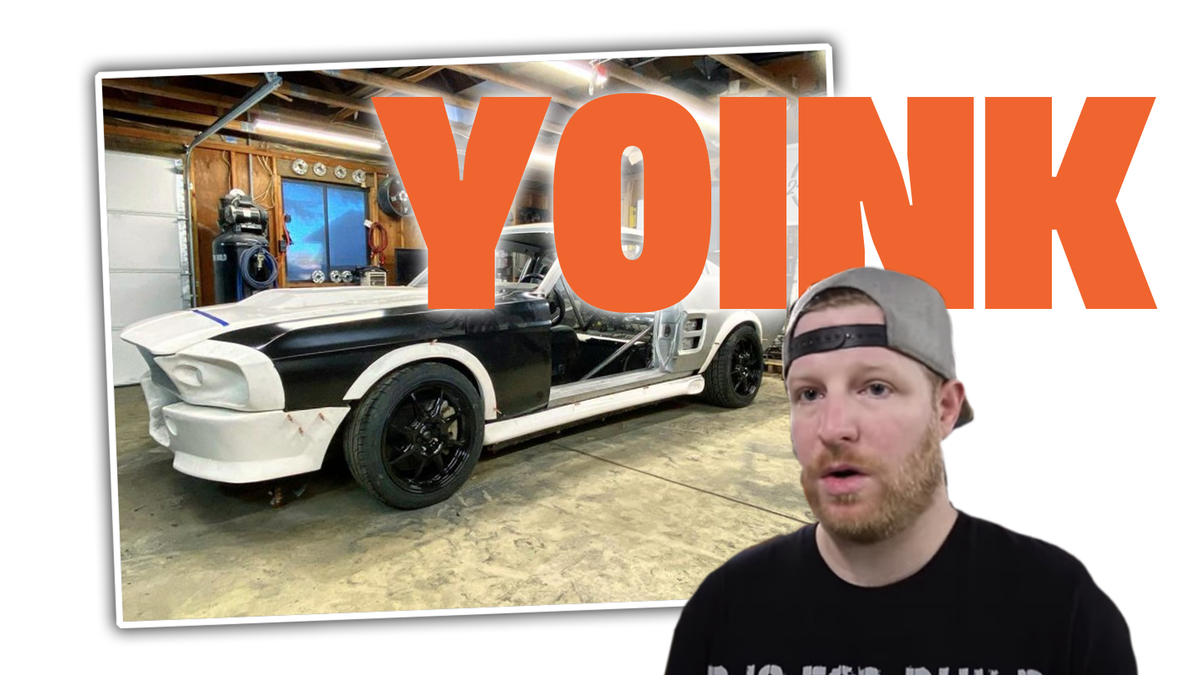 YouTuber Building An 'Eleanor' Mustang Replica Has Car Taken Away For Trademark Issues