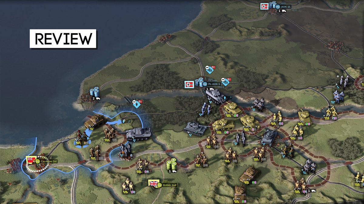 Unity Of Command II Is A Really Solid World War Two Strategy Game - Kotaku