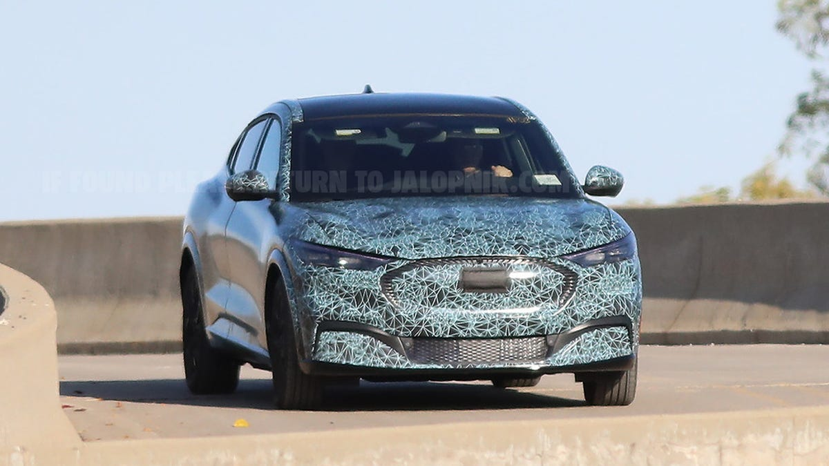 This Is The Ford 'Mustang-Inspired' SUV Caught Almost Totally Undisguised