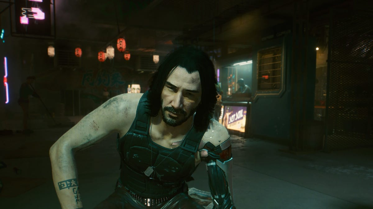 Imaginary Keanu or not, Cyberpunk 2077 is a failure of character
