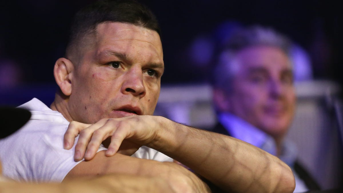 """Nate Diaz Pulls Out Of UFC Event, Claims """"Your All On Steroids Not Me"""""""
